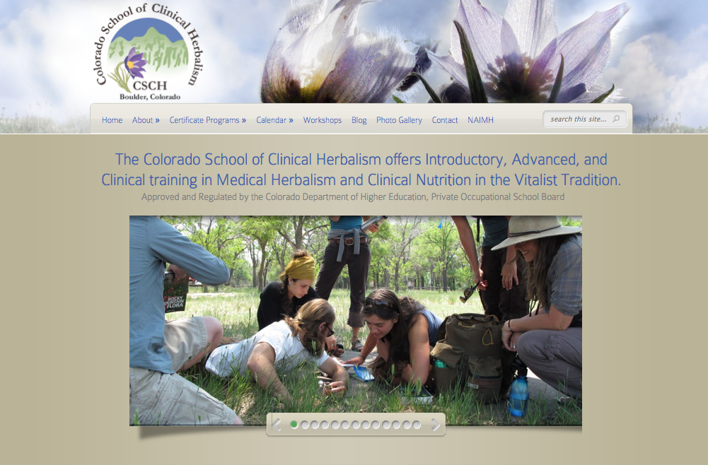 Colorado School of Clinical Herblism website