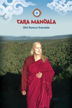 Tara Mandala Retreat Schedule Cover