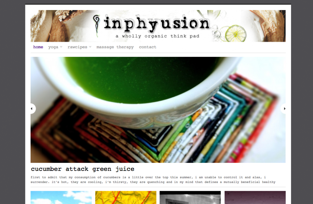 Web Design for inphyusion.com